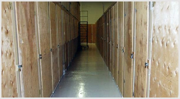 Sizes of Self Storage Units at General Store-All Mini Storage